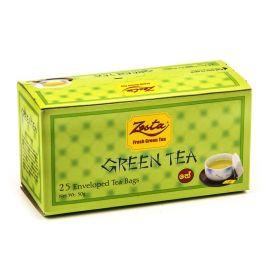 TEA IN BAGS of ZESTA 25х2G (50G) green
