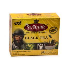 TEA BLACK 100*2 (200 GR) ST.CLAIRS