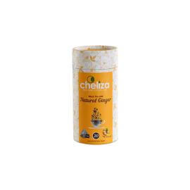 Black tea with ginger in pyramids, 20 * 2,5 gr, Cheliza, Sri Lanka(Russia)