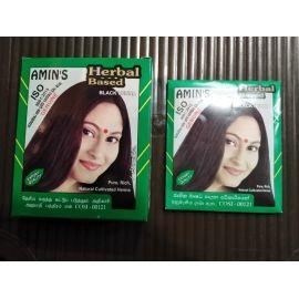 "Black henna 10 g*5 sachets "" AMINS"""