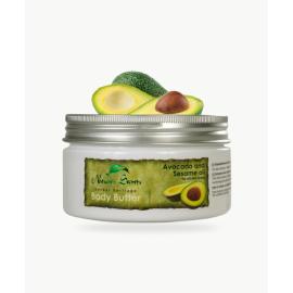 """Body butter Avocado And Sesame Oil """"Herbal Heritage"""" 200 ml, Natures Secrets, Sri Lanka"""