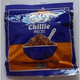 Spice chili Pepper in pieces, 50 gr. Sri Lanka